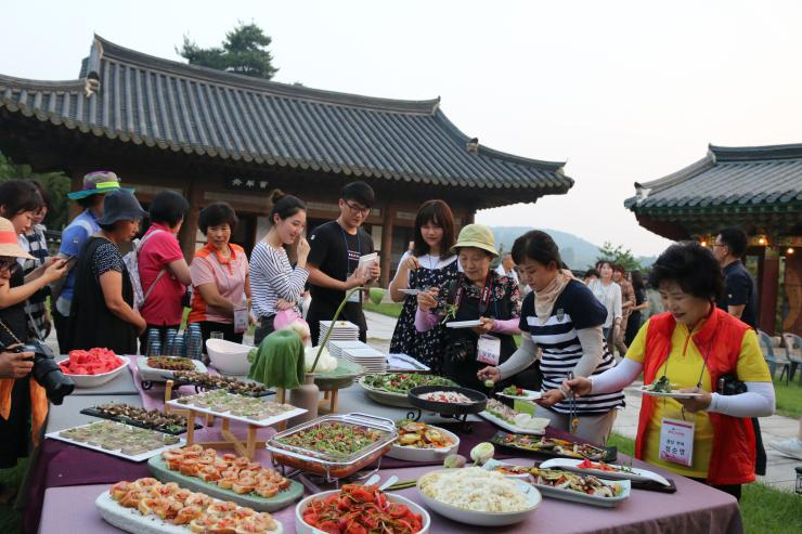 로컬푸드와 농촌문화가 어우러진 '다이닝파티'