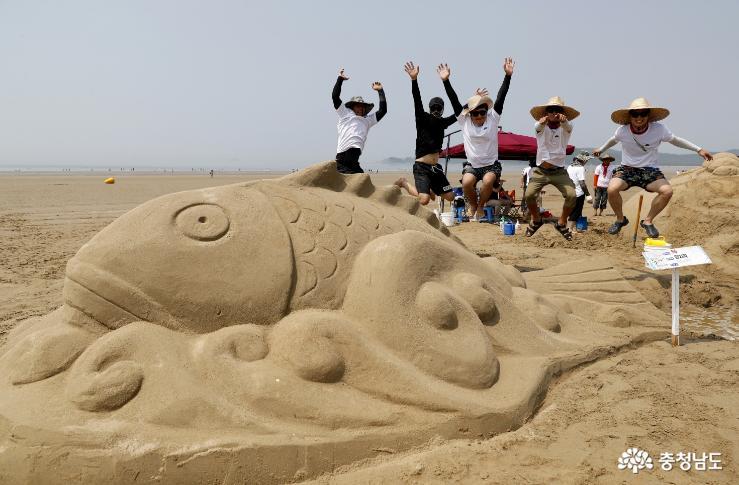태안 국제 모래조각 페스티벌 29일 팡파르