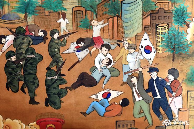 장곡사에서 격동의 한국 현대사를 다 볼수 있다 17