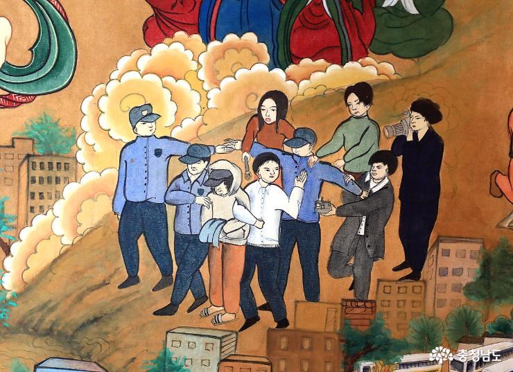 장곡사에서 격동의 한국 현대사를 다 볼수 있다 19