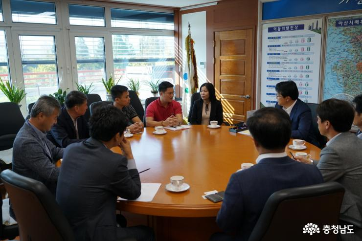 Promising Vietnamese buyer discussed on extending export of Asan pears