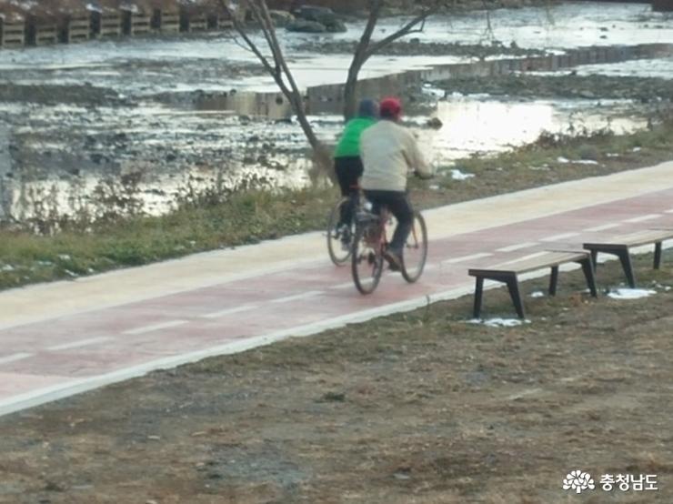 춥지만 할만한 보령 자전거 여행
