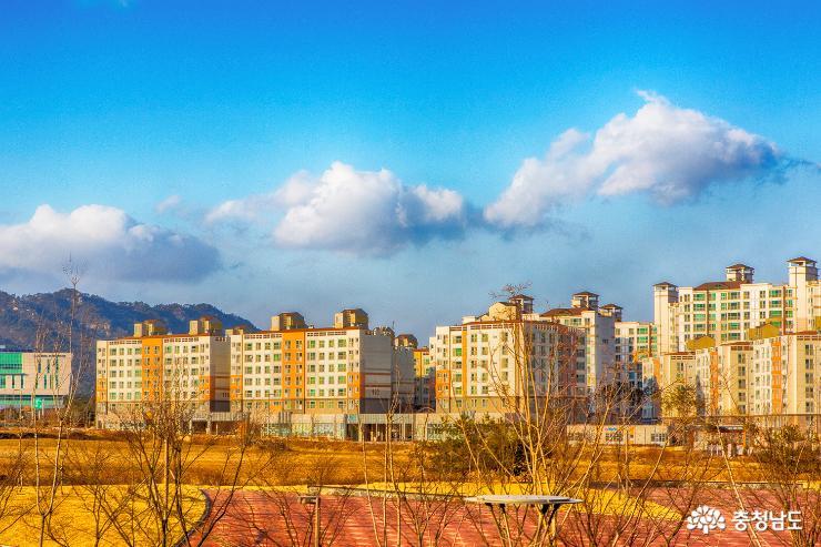 내포신도시의 풍경