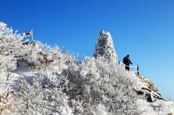 3월의 눈꽃, 가야산 설국 산행기