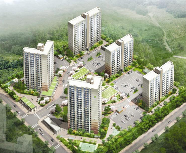 내포 예산지역, 첫 공공임대주택 착공