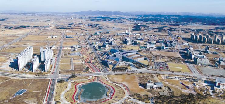 공공기관 몰리는 내포…환황해 중심 도시 '비상'