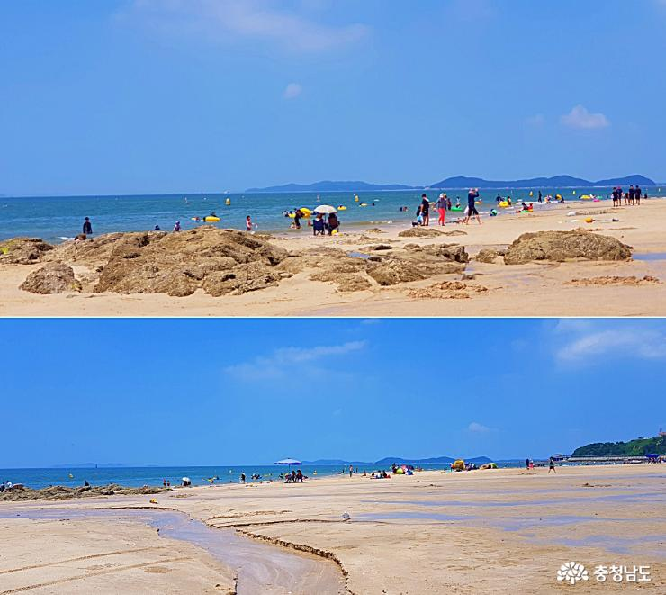 당장 가고픈 휴가철 대천해수욕장 풍경 사진