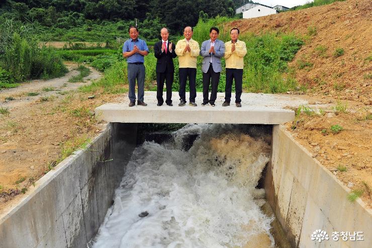 예당호 용수공급 공주보-예당저수지 도수로 가동