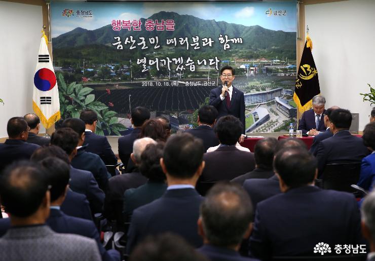 """""""금산 인삼·약초, 세계적 명품으로 육성"""""""
