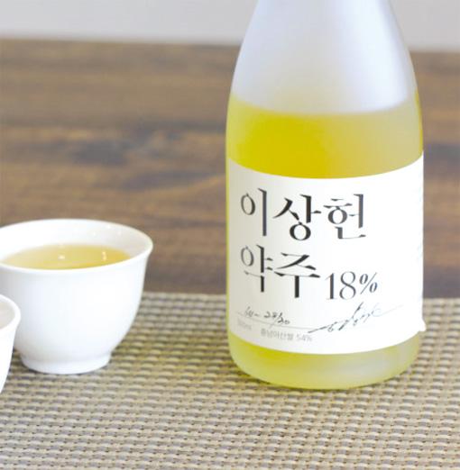 맑은 담황색의 '이상헌약주'