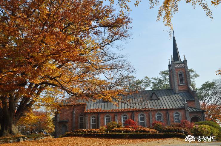 깊은 가을을 담은 공세리 성당