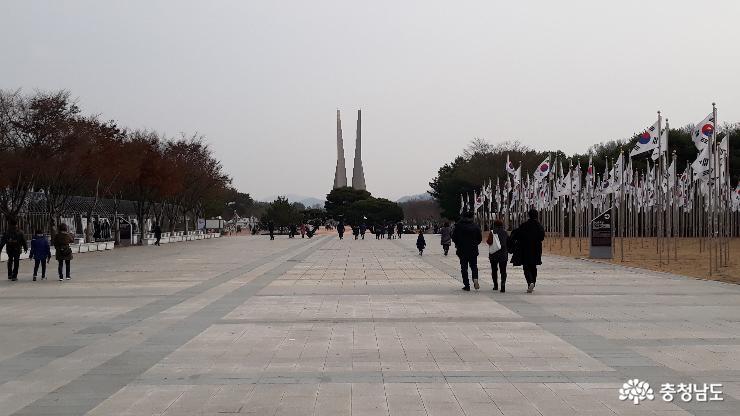 독립기념관에서 다진 우정과 기개
