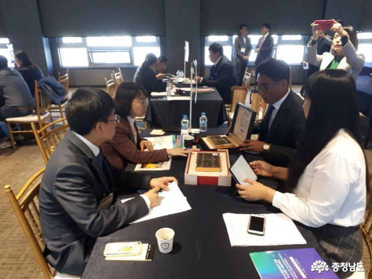 Chungnam delegation to overseas achieves remarkable results in export