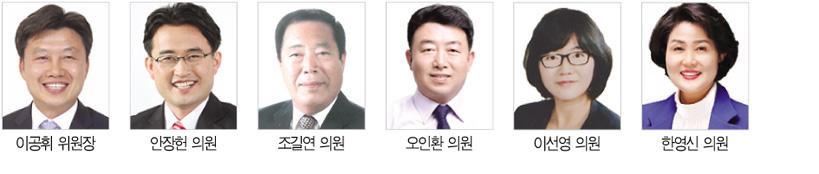 제308회 정례회 상임위원회 예산·조례 심사