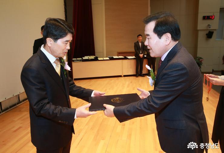 도교육청, 2018 하반기 퇴임 공무원 훈포장 전수