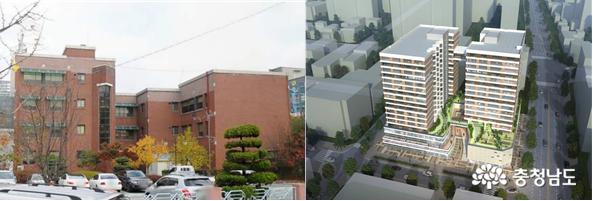 두정동 여성문화회관 행복주택으로 '재건축'
