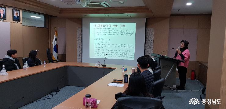 한영신 의원, 『다문화사회 바로알기』특강 개최