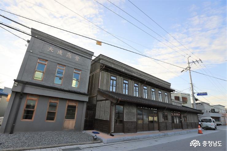 강경의 복원된 근대건축물