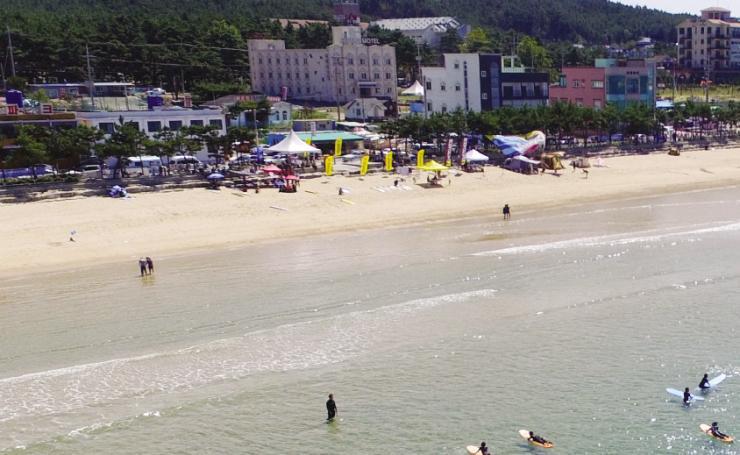 태안 만리포, 서핑 천국