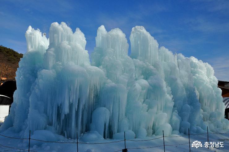 [사람세상]참 신나는 칠갑산 얼음분수축제