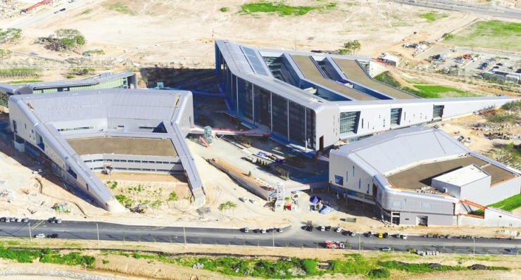 2012년 도 청사 건립공사 당시의 모습