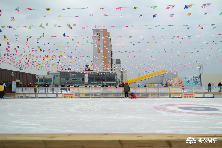 보령 스케이트 테마파크 전경 - 쉬는 시간