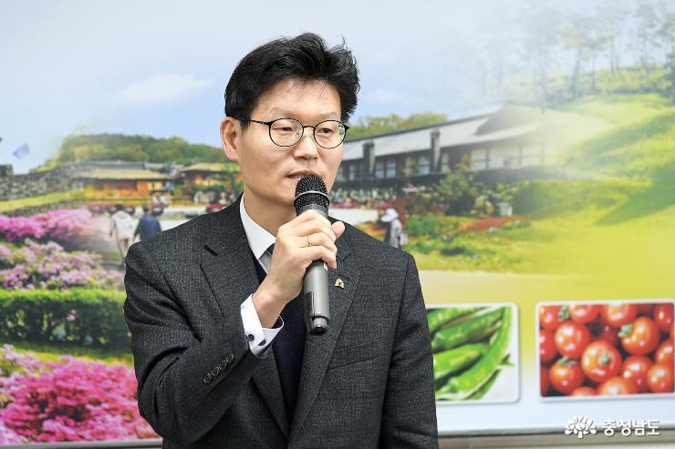 김정섭 공주시장, 기해년 새해 읍면동 방문 마무리