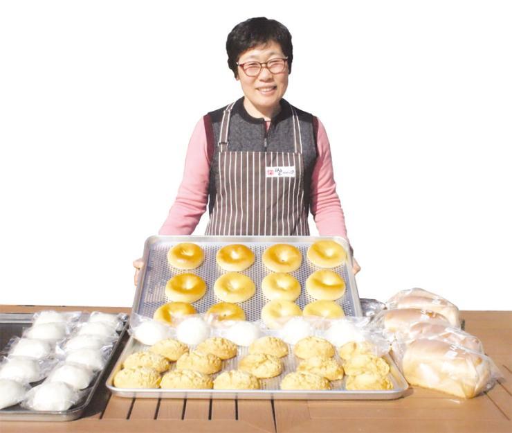 뽀오얀 쌀빵에 홍동 유기농업 40년 역사를 담다