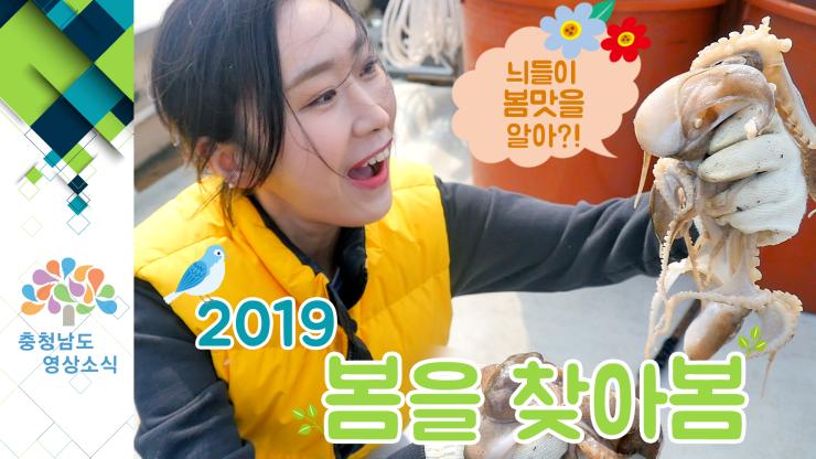 [VCR] 늬들이 봄맛을 알아?! 2019 봄을 찾아봄