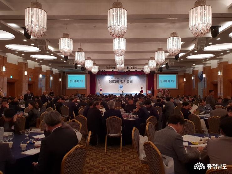 양승조 지사, 충남건축사회 총회 참석
