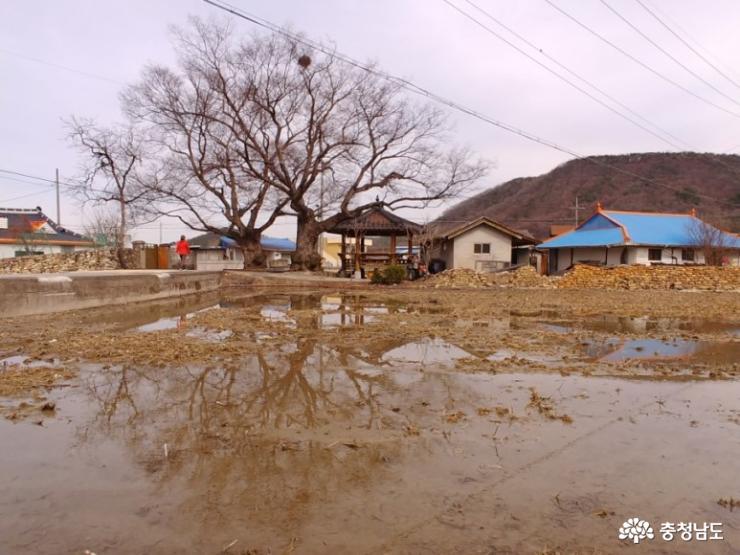 충남 최초의 서원 마을