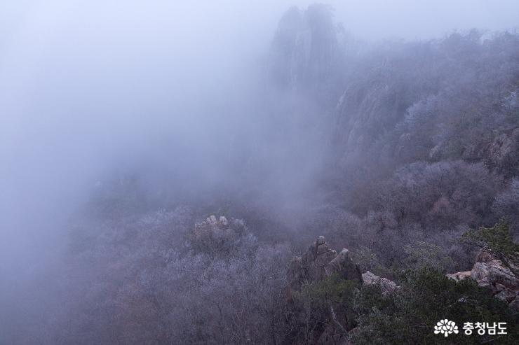 [사람세상]대둔산 봄을 시샘하는 겨울풍경