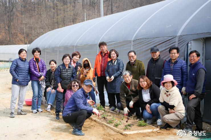 초록의 빛 도시농업의 저변 확대를 위해