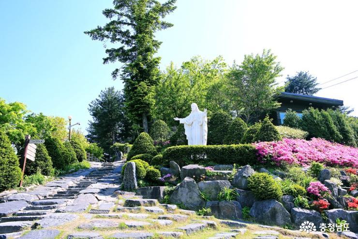 공주 5월 산책하기 좋은 곳, 천주교 황새바위 순례성지 2