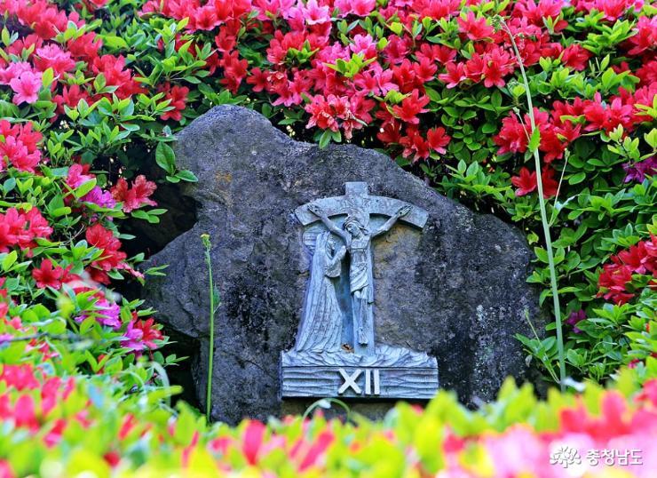 공주 5월 산책하기 좋은 곳, 천주교 황새바위 순례성지 7