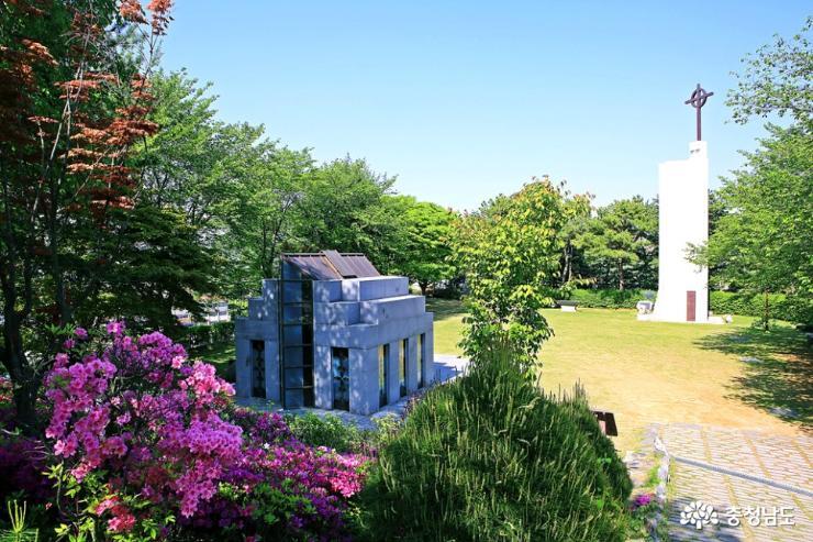 공주 5월 산책하기 좋은 곳, 천주교 황새바위 순례성지 11
