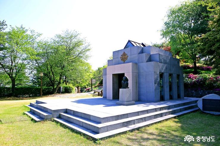 공주 5월 산책하기 좋은 곳, 천주교 황새바위 순례성지 13
