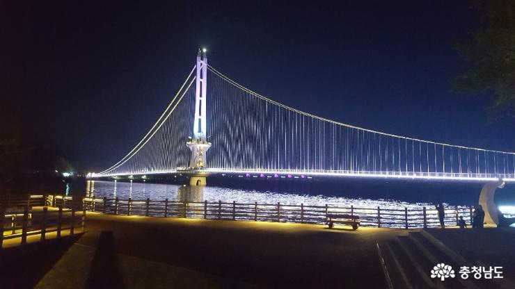 도내 관광지 탐방 1. 예산 출렁다리