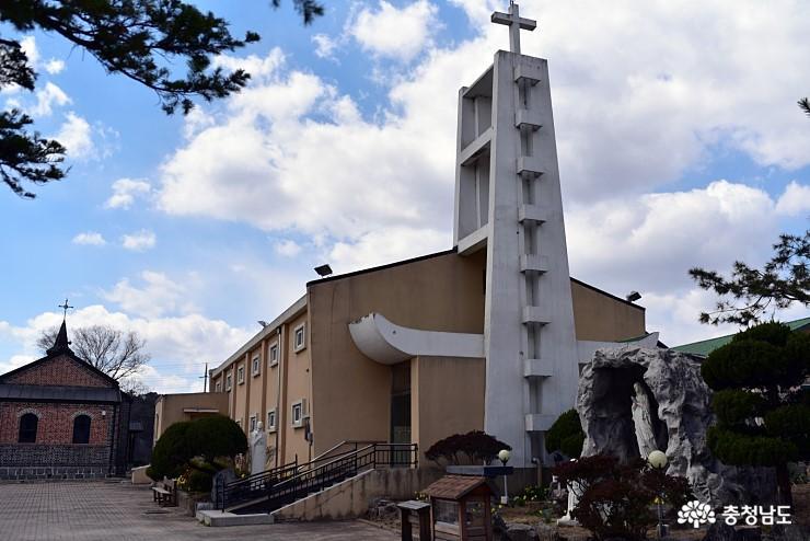 [사람세상]부여 최초의 성당 금사리성당, 부여 가볼만한곳
