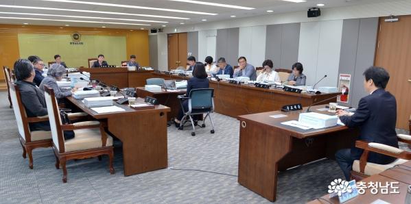충남도의회 예산결산특별위원회, 도교육청 추경 54억 6,831만원 삭감