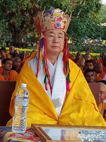 천불사 인경스님, 세계불교 승가 연합회 초대 총재 및 세계승왕 추대