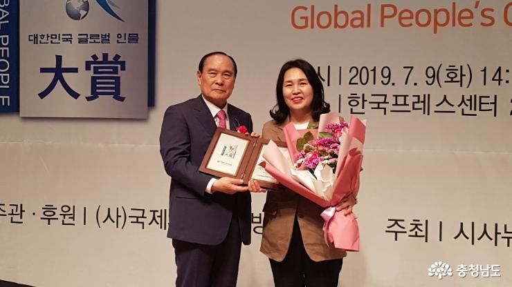 충남도의회 김은나 의원 의정활동 1년 '빛났다'