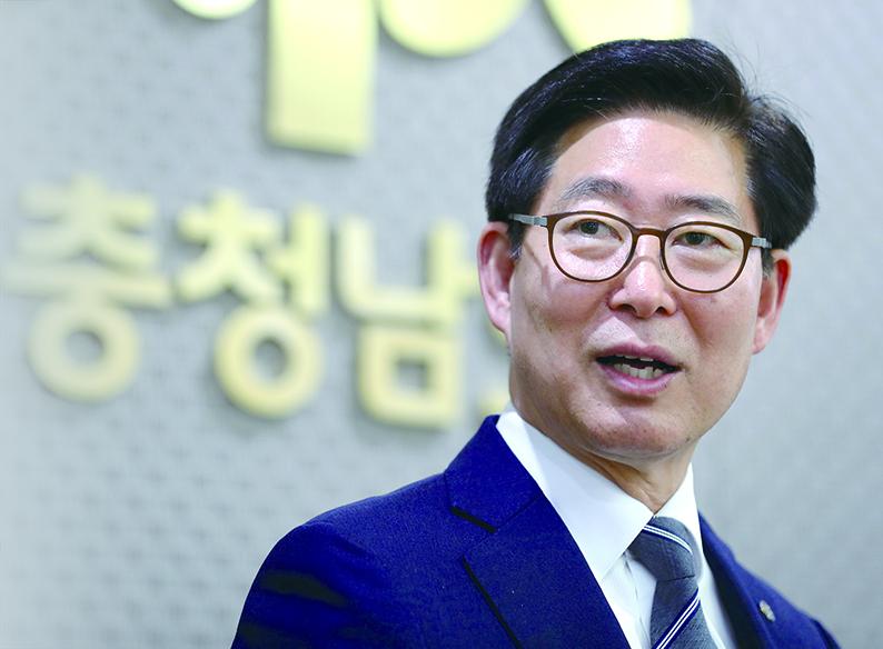 """""""공격적 충남형 경제로 도민복지 성공 자신"""""""