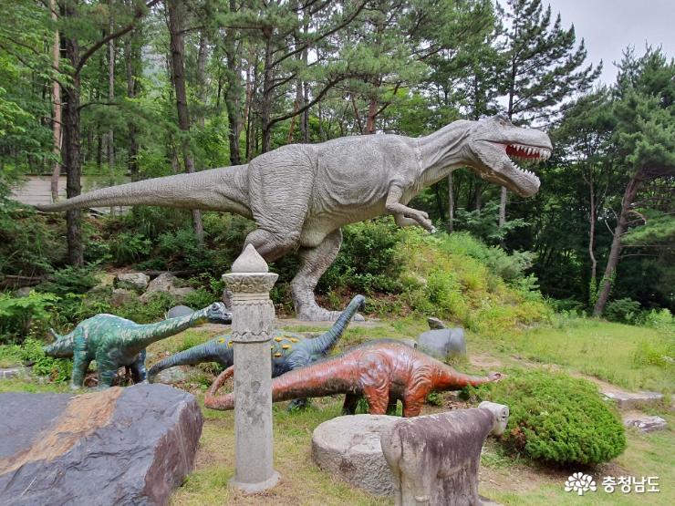 계룡산 자락에 위치하고 있는 박물관 3