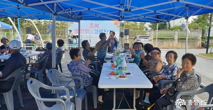 [포토] 직산읍 부송3리, 어르신 경로잔치 개최 사진