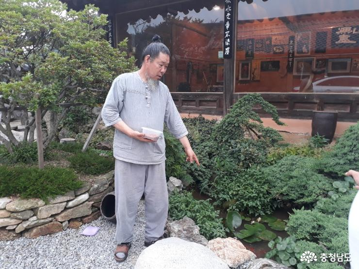 목공예 작가 송림 선생 방문기 사진