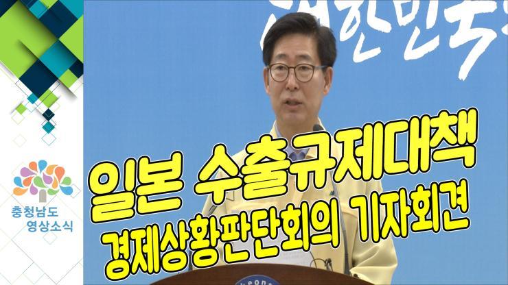 [NEWS]일본수출규제대책 경제상황판단회의 기자회견