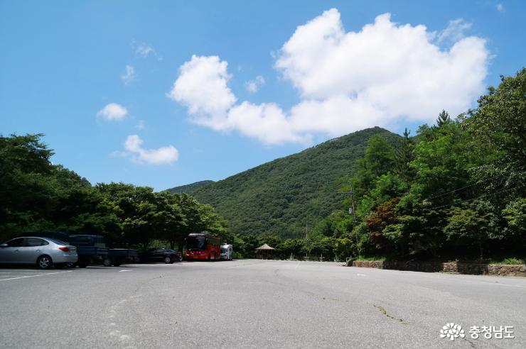 성주산 주차장
