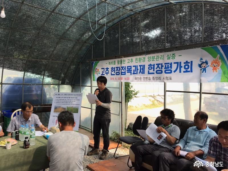 친환경 고추 농가 경영비·노동력 줄인다