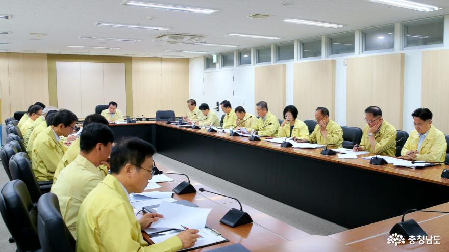 김지철 충남교육감, 태풍 '링링' 대비 철저 지시